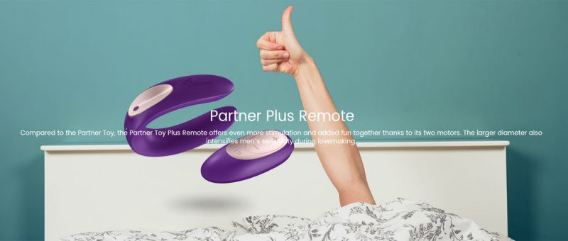 Partnerplus remote - Vibrador remoto